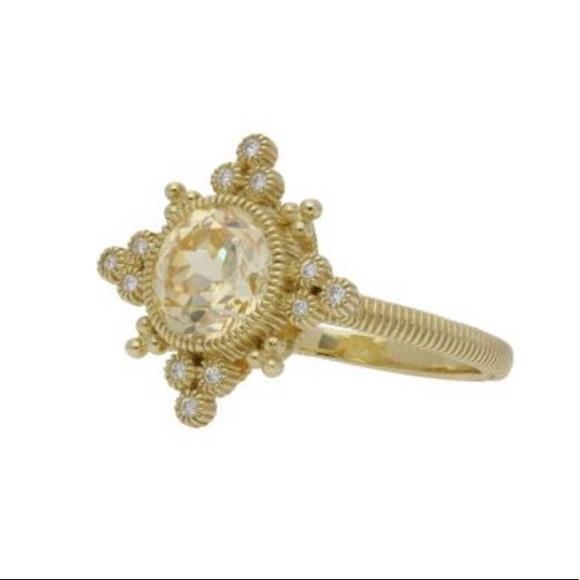 edfc75b7b4099 Authentic Judith Ripka Angelica Ring - like new!!